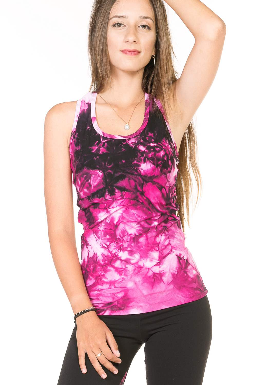 090381b7b9c50 PATAYA Batik long workout tops – Margarita Womens workout clothes