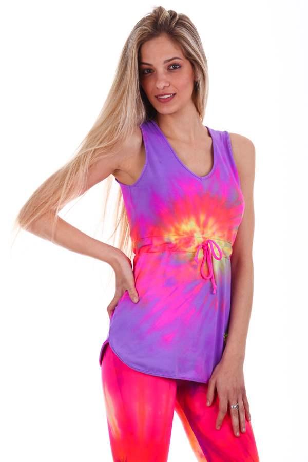 792d306393538 MAX FRESH Batik long workout tops – Margarita Womens workout clothes